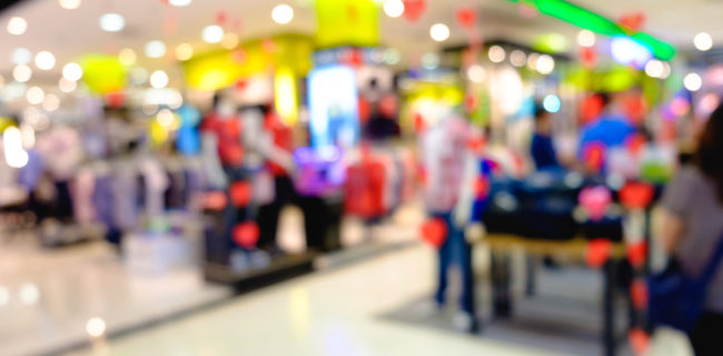 determining the material and size of an effective retail display stand