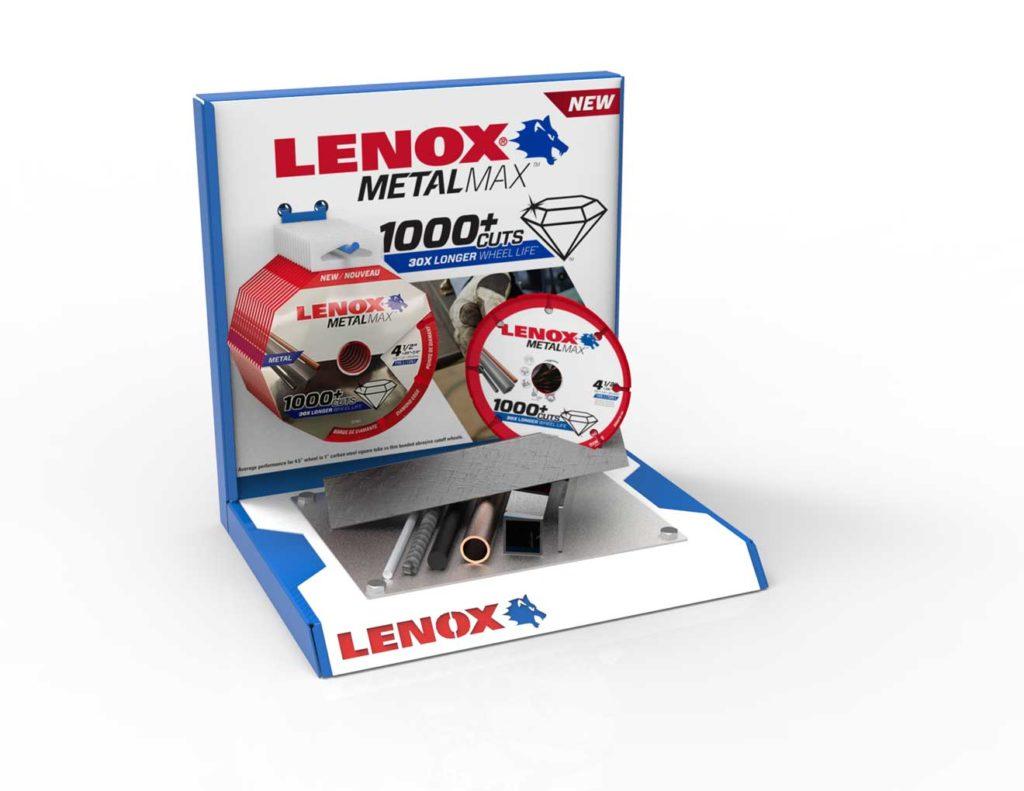 custom pop display for lenox