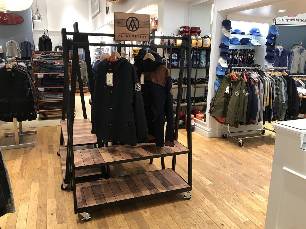 Garment Racks Retail POP Displays