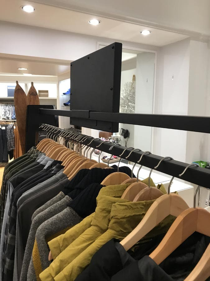 Garment Racks Retail POP Displays