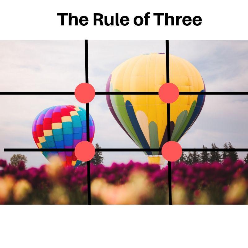the rule of three in custom store displays